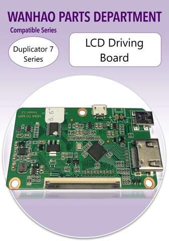 LCD DRIVING BOARD – D7 PLUS